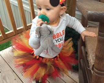 Thanksgiving Tutu Skirt and Headband
