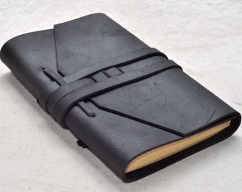 Leather Journal  Diary, Notebook (Free Stamp)