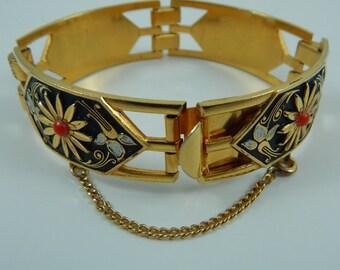 Damascene Link Bracelet