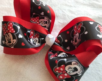 Minnie Mouse Boutique Bow