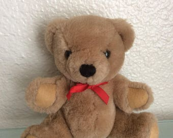 Vintage R. DAKIN Soft Plush Teddy bear 1985