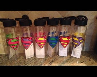 I'm a Teacher.  What's your Super Power? Water Bottle
