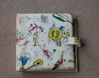 Vintage 1950's Singles (45RPM) Record Case 'Rock n Roll'