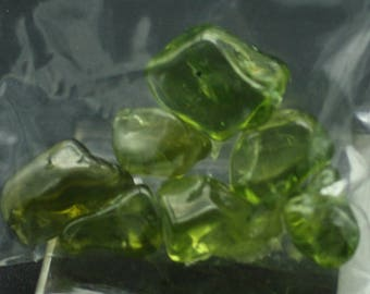 Tumbled and Polished Peridot, Mineral Specimens for Sale