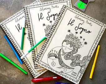 The Dream | Coloring book | Coloring pages | Burabacio