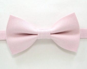 Blush Pink bow tie,Wedding bow tie ,Easter Bow Ties for Men,Toddlers ,Boys,baby