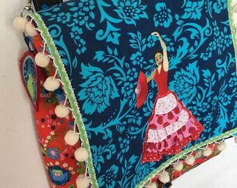 Backpack * bag * flamenco