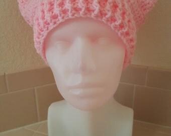 Pussyhat Project Hat, Pink Pussycat Hat, Women's Protest Hat, Official Pink Pussyhat Project, Women's Movement, Women's March Hat