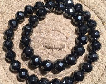 Hematite Beads-Hematite Bead Strand-Faceted Gray Hematite Stone-semi Precious Stone-Finding- Bead Shop..