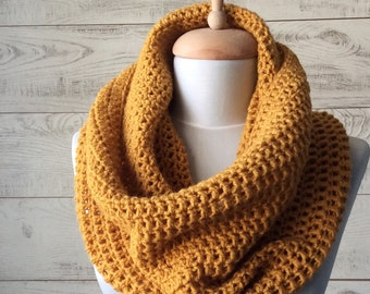 Knit scarf, mens scarf, knit cowl, infinity scarf, hooded scarf, mens scarf / Many Colors / FAST DELIVERY