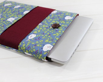 Macbook Pro sleeve, laptop case, Macbook case 15 inch, Pro Retina sleeve, laptop sleeve, gift for her, Macbook sleeve, 15 inch laptop case