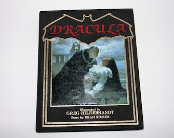 Dracula Hardcover Book by Bram Stoker 1985