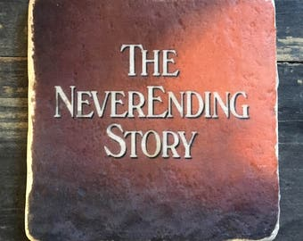 SAMPLE SALE: Neverending Story Coaster or Decor Accent