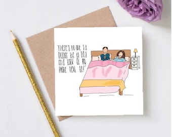 For Dating Phones Greeting Card