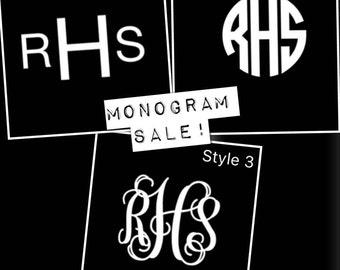 Monograms- FREE SHIPPING!