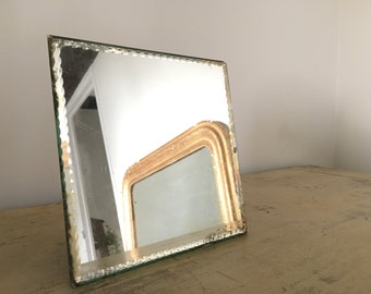 Former beveled mirror.