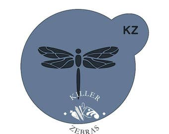 Fast Shipping!!! Dragonfly Mini Stencil