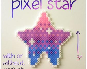 Cute Pixel Star | Artkal / Perler / Hama Fuse Bead Art