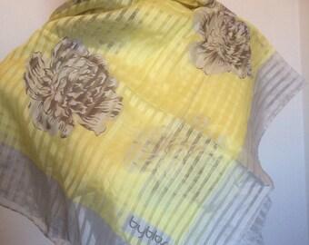 Vintage lightweight silk scarf Byblos