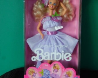 Mattel Lavender Surprise Barbie Doll