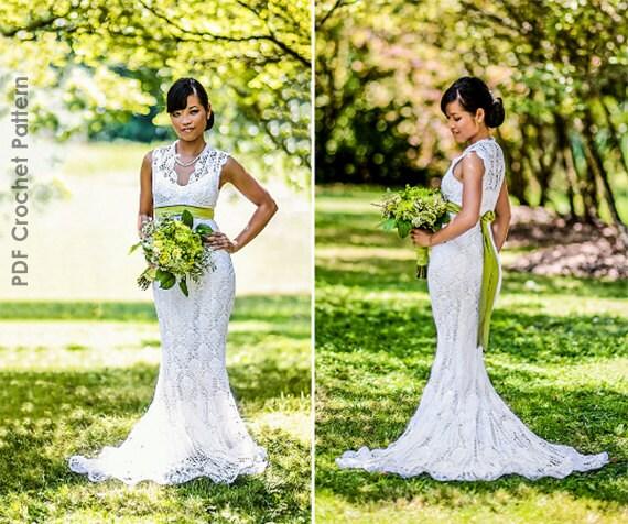 Crochet wedding dress train pattern junglespirit Images