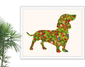 Dachshund Wall Art dachshund art print dachshund wall art dachshund print