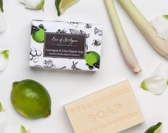 organic soap - bar soap - artisan soap - natural soap - face soap - gentle soap - english soap - natural face wash - natural cleanser