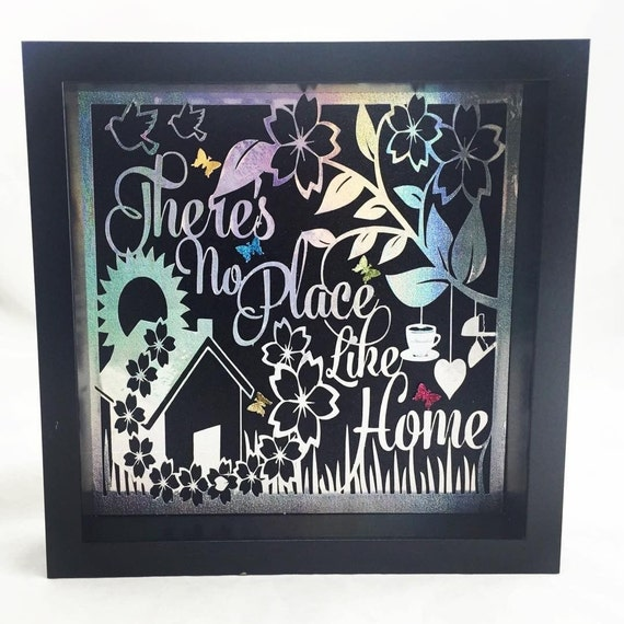 Home Decor Frame | house warming gift | paper art wall decor | wall decor artwork | papercut framed art | home gift ideas | new home present