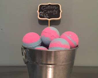 Cotton Candy Bubble Bath Bomb! Bath Fizzy Bath Fizzie, Foaming Bath Bomb, 2.50 ounce