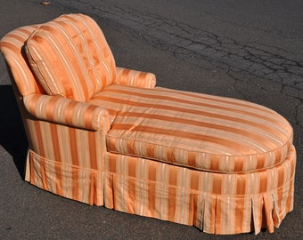 High End Custom Decorative Chaise Lounge