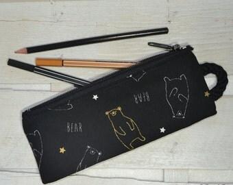 Pencil case bears