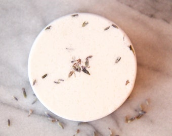 Lavender + Coconut Milk Bath Bomb   All Natural Bath Bomb   Vegan Bath Bomb   Organic Bath Bomb