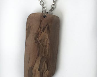 Driftwood Pendant Necklace