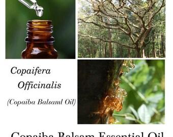 Copaiba Balsam Essential oil, Copaiba Balsam Oil, Balsam Copaiba Essential Oil, Copaifera officinalis, 100% Pure Authentic Copaiba Balsam EO