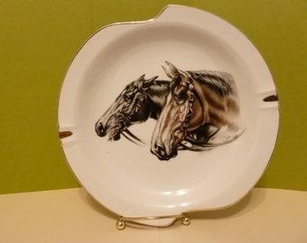Horses Ashtray, Unmarked
