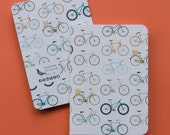 Milan Icons Notebooks A6 bicycles cover