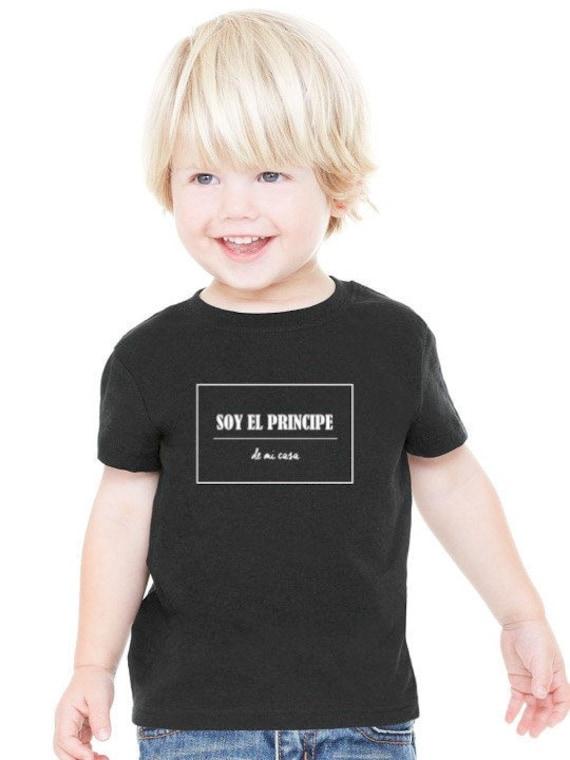 Boy t-shirt SOY EL PRINCIPE de mi casa