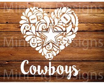 Dallas Cowboy Svg Etsy