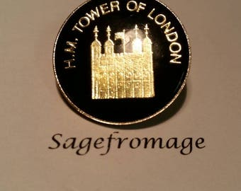 H.M Tower of London pin