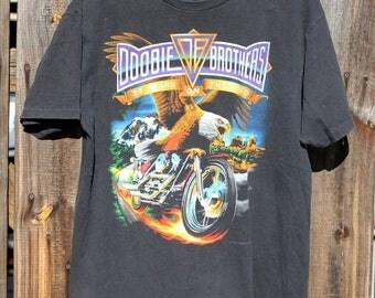 Rare Vintage Doobie Brothers 1994 World Tour T shirt Mens Large