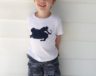 Rodeo shirt// bull rider shirt// broncing bull tee// Cowboy shirt