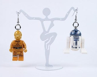 Star Wars LEGO® Earrings C-3PO and R2-D2