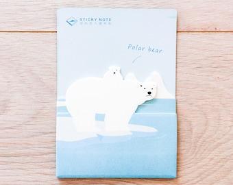 Cute sticky notes - polar bear #4 | Cute Stationery