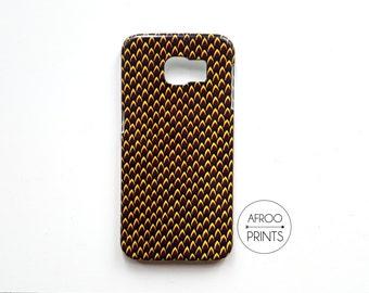 AFROOPRINTS. Phone case Wax African Prints XL