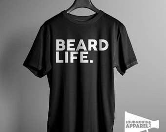 Beard Life Men's T-Shirt Humour Tee