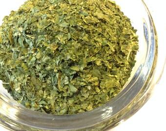 1/2 - 4 oz Parsley Leaf organic NO Sulfites No Soy. no additives With recipe