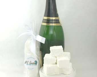 Gourmet Champagne Marshmallows