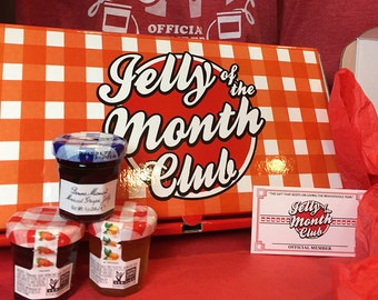 Christmas Vacation Jelly of the Month Club | Jelly of the Month Club | Gift Keeps Giving the Whole Year! | Funny Christmas Gift