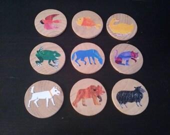 Create A Story, Brown Bear,Story Starters for Kids, Preschool Early Literacy, speech therapy, Brown Bear Brown Bear, storytelling kit