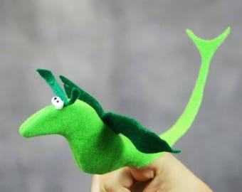 Dragon Finger Puppet - Dragon Puppet